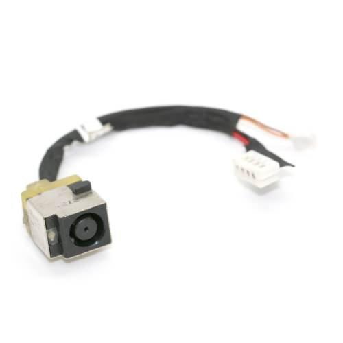 Livaison Gratuite / Connecteur de charge & alimentation compatible pour PC Portable HP ProBook 6017B0300201 4730s, avec câ ble de 9 cm, 4 + 3 broches, DC IN Jack Power, NOTE-X / DNX avec câble de 9 cm