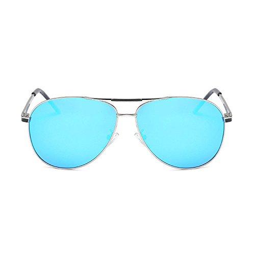 Aoligei Pilote de lunettes de soleil homme lunettes de soleil polarisées grenouille D