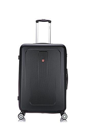 28' Spinner (DUKAP Luggage Crypto Lightweight Hardside Spinner 28'' inches Black)