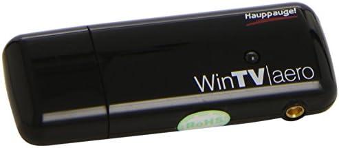 Hauppauge Win TV Aero 1247 - Stick de TDT HD alta definición con antena telescópica integrada, color negro