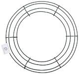 Bulk Buy: Panacea Wire Wreath Frame 12' Green 36003 (10-Pack)