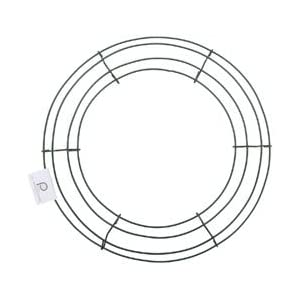 "Bulk Buy: Panacea Wire Wreath Frame 12"" Green 36003 (10-Pack) 12"