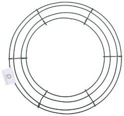 Bulk-Buy-Panacea-Wire-Wreath-Frame-12-Green-36003-10-Pack