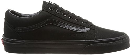Black Schwarz Black Zapatillas Unisex Skool Vans U Old Adulto Negro zgwpqZ