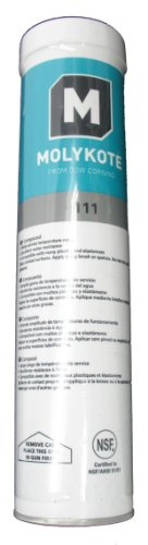 Dow Corning Molykote 111 O-Ring Valve Silicone Lubricant & Sealant 14oz 400g Cartridge Dow 111 O-ring Silicone