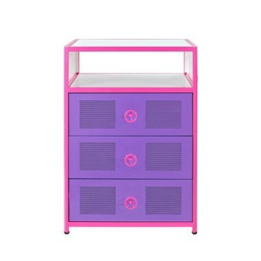 Dune Buggy Pink Storage Cabinet For Girls  sc 1 st  Amazon.com & Amazon.com: Dune Buggy Pink Storage Cabinet For Girls: Kitchen u0026 Dining