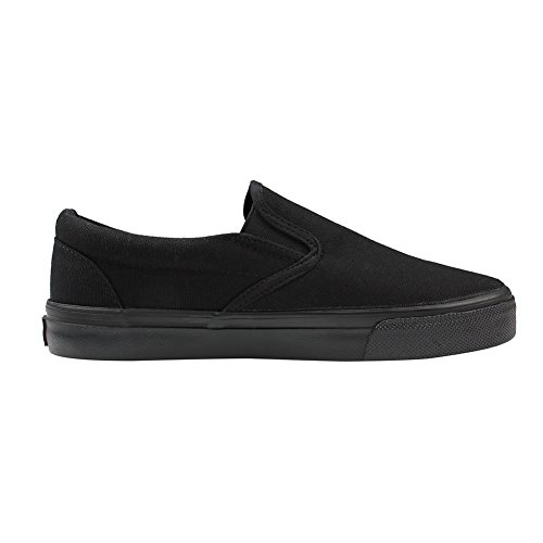 Shoes Leisure Anmengte Black Fashion Sports Casual Canvas Womens Flat 2 Sneakers Pt8qw7H