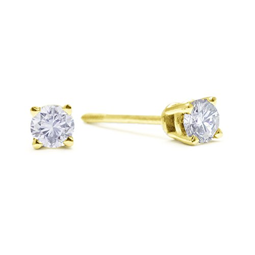 14k-yellow-gold-round-diamond-stud-earrings-1-4-ct-tw-ags-certified