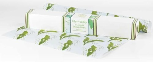 English Lily Scented Drawer Liners by Best British Gifts Master Herbalist BBELV1