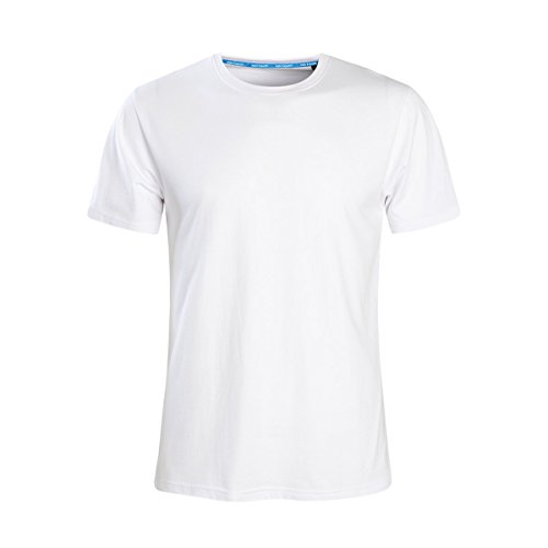 - MZ4EVER M-6XL Big and Tall Available Men's Classic Basic Solid Ultra Soft Cotton T-Shirt Pack (6XL, White)