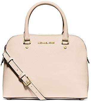 Michael Kors Cindy Medium Dome Satchel Bag, Ecru: Buy Online
