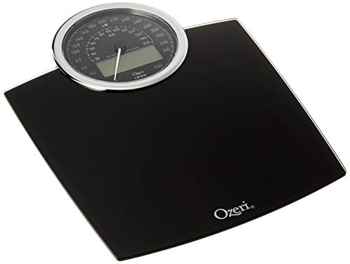 Ozeri Rev 400 lbs (180 kg) Bathroom Scale with Electro-Mechanical Weight Dial and 50 gram Sensor Technology (0.1 lbs / 0.05 - Scale Dial