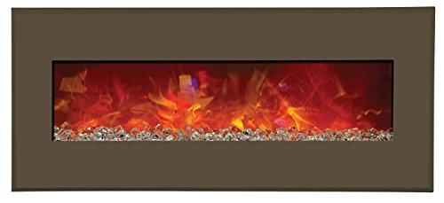 Cheap Amantii Advanced Series Wall Mount/Built-In Electric Fireplace with Modern Auburn Steel Surround 43 Inch (WM-BI-43-5123-MODERNAUBURN) Black Friday & Cyber Monday 2019