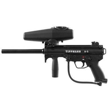 Tippmann A5 Paintball Gun - with E-grip ()