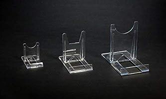 Extrem 10 Tellerständer Tellerhalter Acryl 40 x 70 mm Höhe 50 mm: Amazon JC99