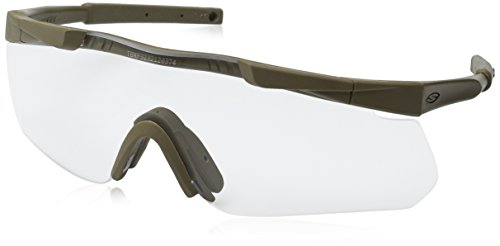 Smith Optics Elite Aegis Arc Asian Fit Eyeshields, Clear/Gray, Tan - Glasses Asian