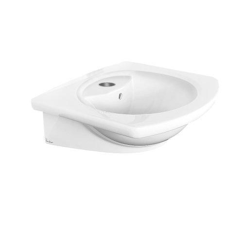 Porcher Console - Porcher 10441-00.001 L'Expression Square Above Counter Basin, White