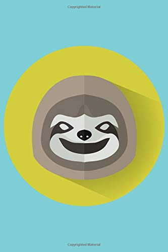 Sloth Circle Of Mischief Notebook: 2019 Weekly Planner with Note Paper -