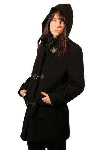 coat La femmes Crme hiver laine duffle xaqZwYa
