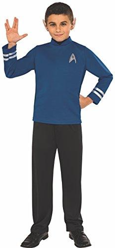 Rubie's Costume Kids Star Trek: Beyond Spock Costume, (Spock And Uhura Halloween Costume)