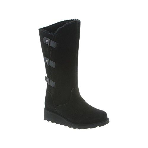 BEARPAW Women's Hayden Boot Black II Size 7 B(M) US by BEARPAW