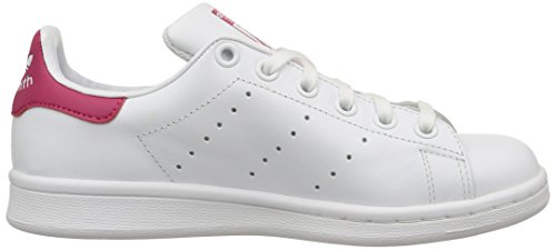 adidas Unisex White Footwear Footwear Smith Pink Kids' White Bold Trainers White Stan rpZrqw1