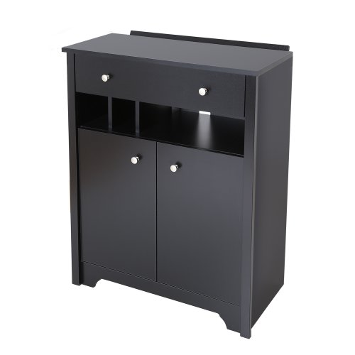 South Shore Vito Charging Station Cabinet, Pure - Charging Station Furniture