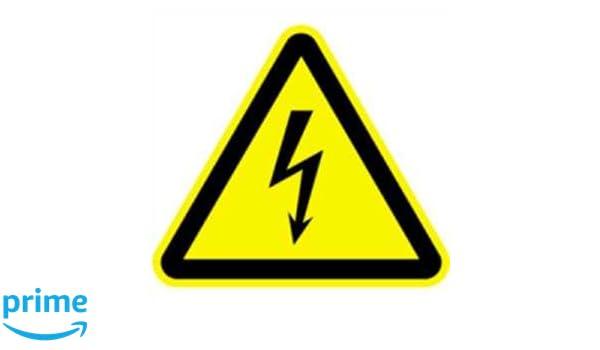 Cartel de advertencia de suelo mojado eléctricos peligrosos ...