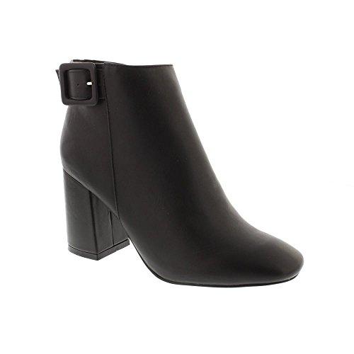 Glamoureuze Fw2709 Blokhak Laarzen - Zwarte (door De Mens Gemaakte) Dameslaarzen