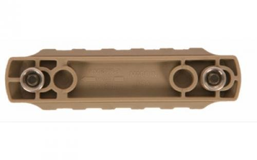 Bravo Company BCM Keymod Nylon Picatinny Rail Section, Flat Dark Earth, 3'' by BRAVO COMPANY