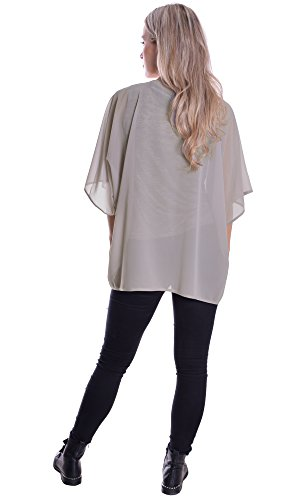 MQC - Camicia -  donna Grigio Grau Large