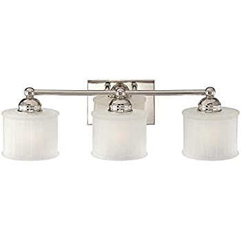 Amazoncom Minka Lavery Wall Light Fixtures Series - Polished nickel bathroom light fixtures