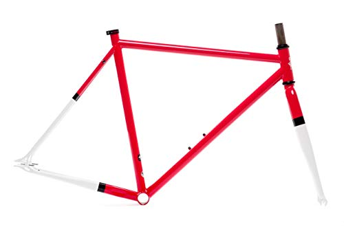 State Bicycle Co. Frame Set Double Butted 4130 Chromoly Steel Tubing, Montoya, 59 cm