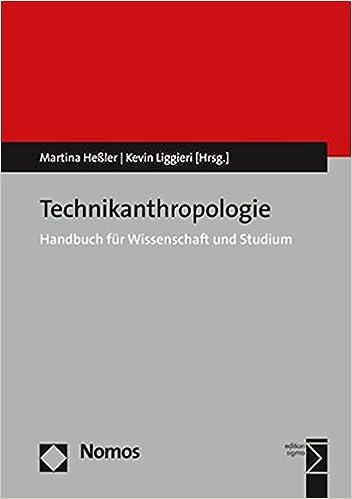 Amazon.com: Technikanthropologie: Handbuch Fur Wissenschaft ...