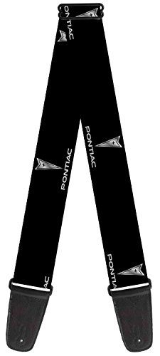 pontiac-theme-nylon-guitar-strap-pontiac-black-silver-repeat-logo