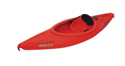 SUNDOLPHIN Sun Dolphin Aruba SS Sit-in Kayak (Red, 8-Feet) ()