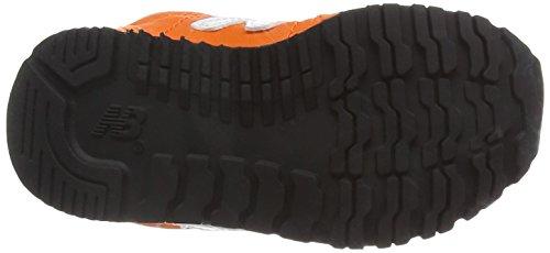 7887a5282 ... New Balance KV396 Kids Lifestyle Velcro - Zapatillas de deporte para  bebés niños Orange White ...