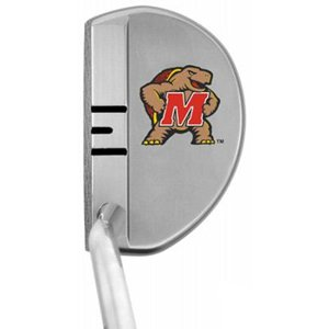 NCAA Maryland Terrapins Logo Right Handed Players Performance Putter