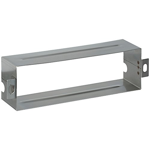 (National Hardware N264-960 V1911S Mail Slot Sleeves - Stainless Steel in Stainless Steel, 1-1/2