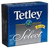 Tetley Select Tea, 100-Count Envelopes (Pack of 10)