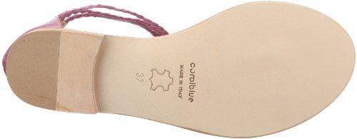 Coral Blue CB C 211508 CB C 211508 - Sandalias de vestir de cuero para mujer Morado