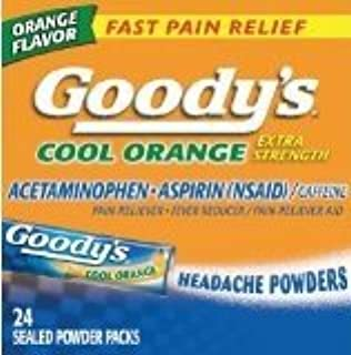 product image for Goody's Cool Orange Extra Strength, Analgesic Powder,