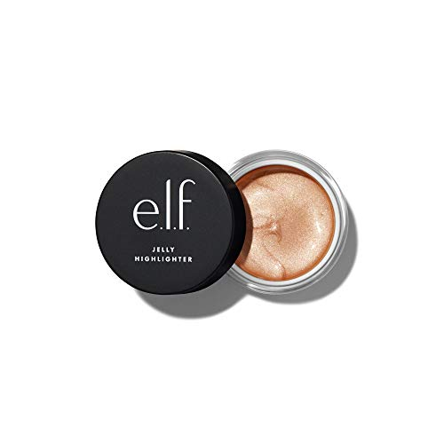 e.l.f., Jelly Highlighter, Smooth, Dewy, Versatile, Long Lasting, Illuminizing, Adds Glow, Blends Easily, Cloud – Rose…