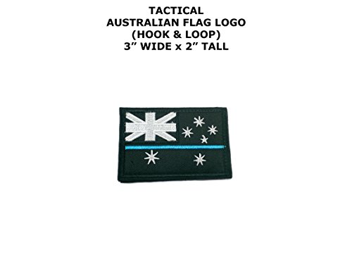 Australian Flag Logo DIY Embroidered Iron or Sew-on Applique Patch Outlander Gear - Australian Superhero Costumes