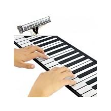 New Flexible Roll Up Synthesizer Keyboard Piano with Soft Keys - 128 Different Synthesized Tones