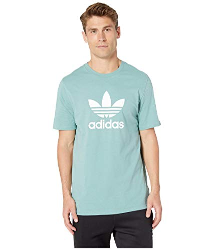 Used, adidas Originals Men's Trefoil Tee Vapour Steel Medium for sale  Delivered anywhere in USA