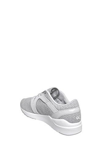Asics Womens Gel-lyte Komachi Sneaker Bassa (6, Grigio Ghiacciaio / Bianco) (6.5)