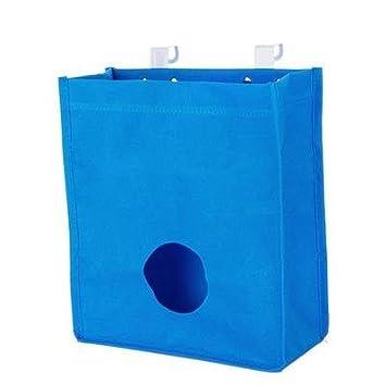 Under Sink Organizers Kitchen Storage Bag Organizer Disposable Bag Kitchen  Accessories / Durable U0026 Hangable Blue
