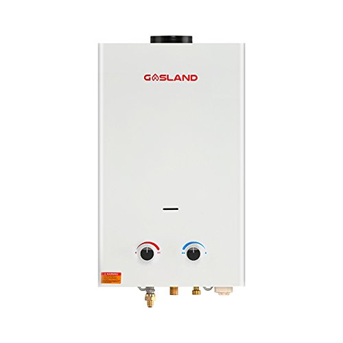 Gasland 2.64GPM 10L Outdoor Portable Propane Gas Tankless Water (Tankless Water Heater Storage Tank)