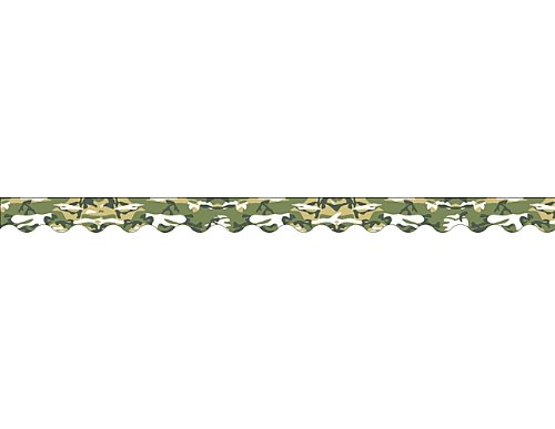 Army Border - Teacher Created Resources Camouflage Border Trim, Camouflage (4610)